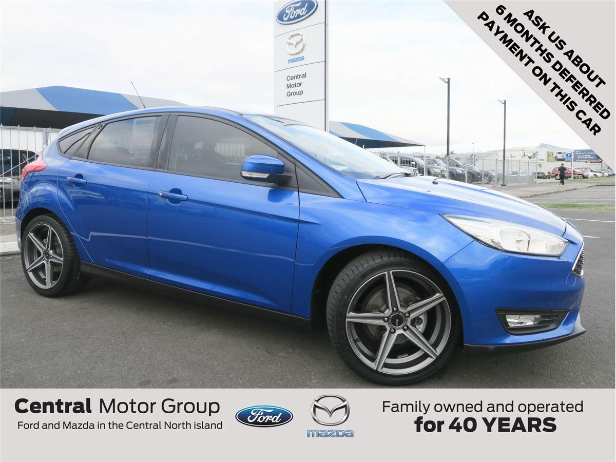 Ford Focus SPORT 2017  Central Motor Group  Taupos biggest and