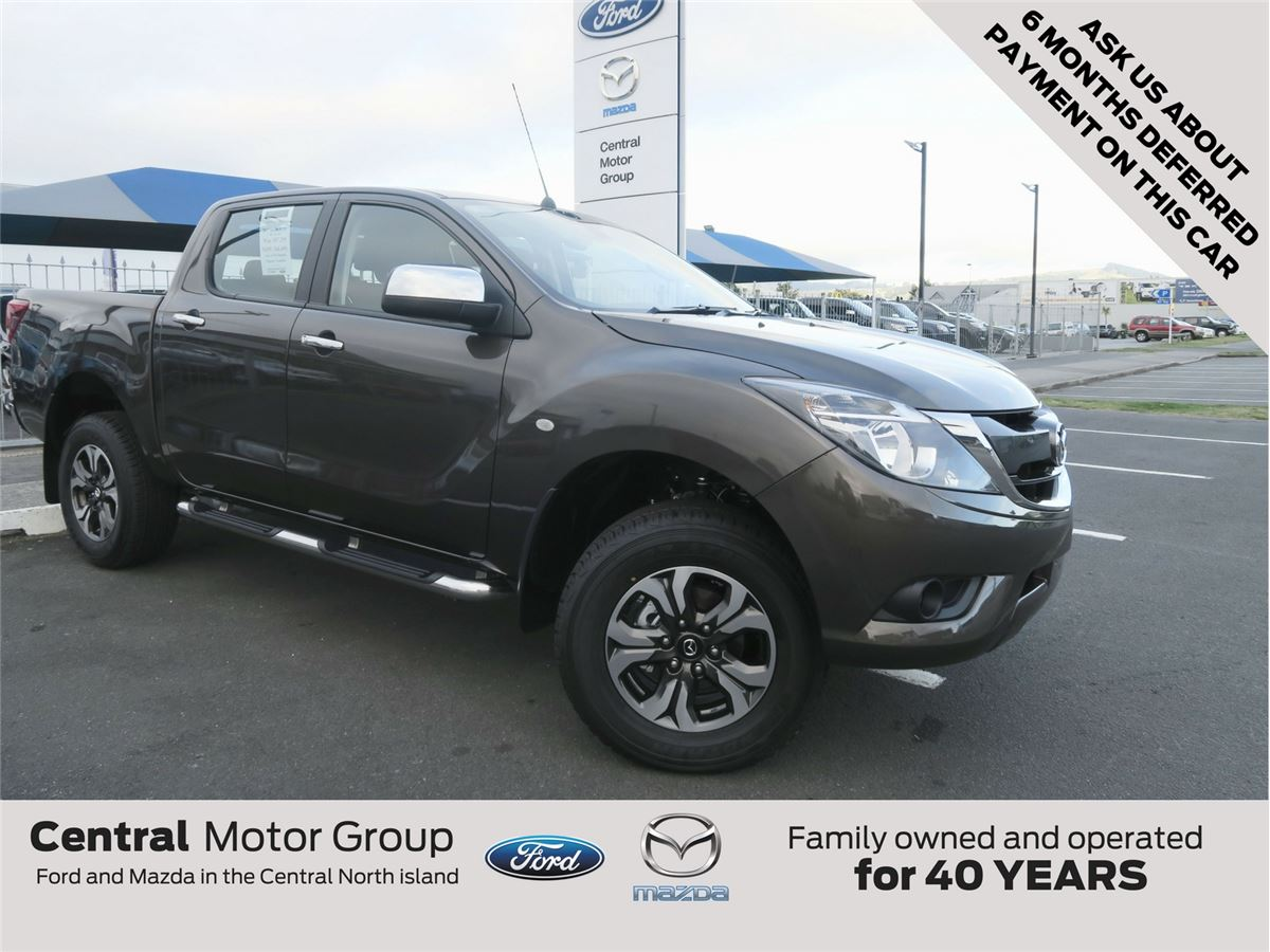 mazda bt-50 gsx 4x2 auto 2017 - central motor group - taupo's