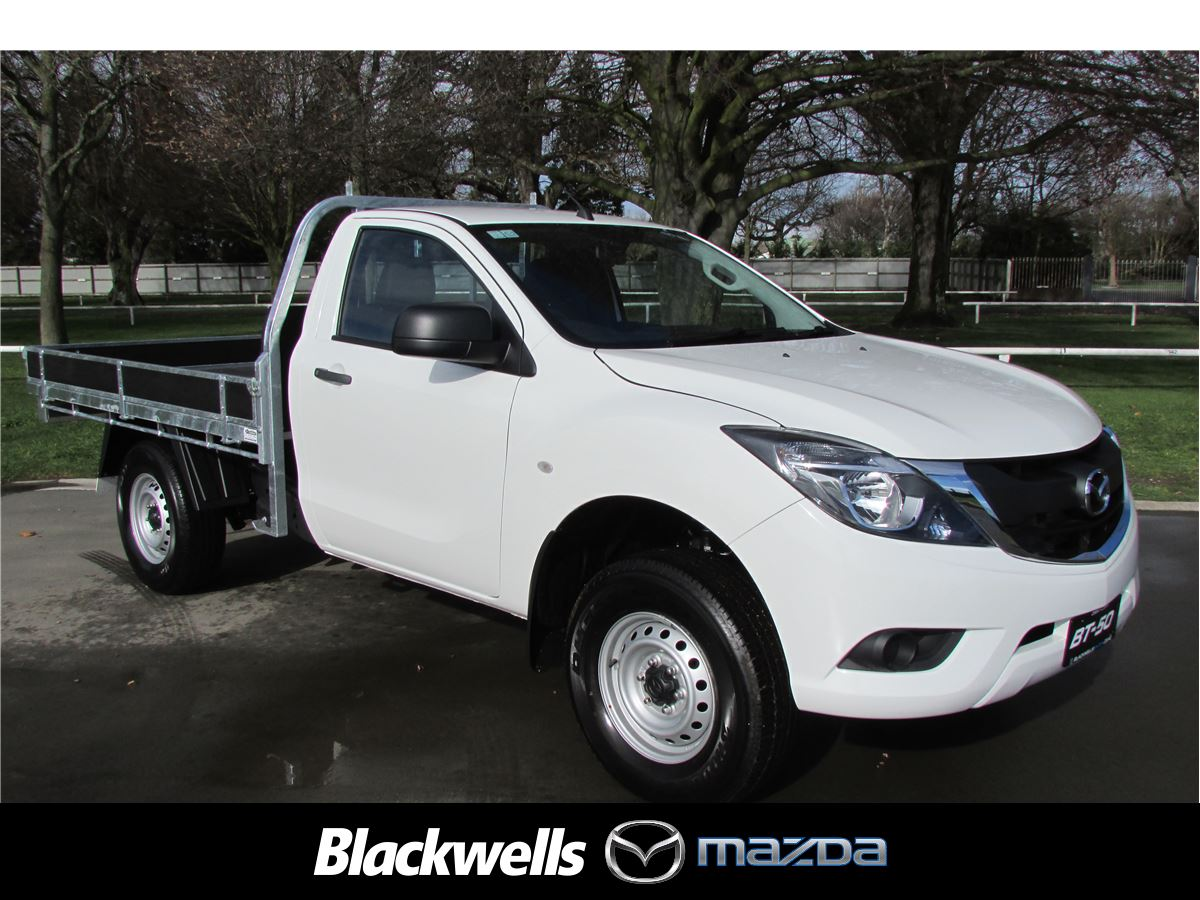 mazda bt-50 glx 4x2 single cab 3.2tdci 2017 - blackwells | new