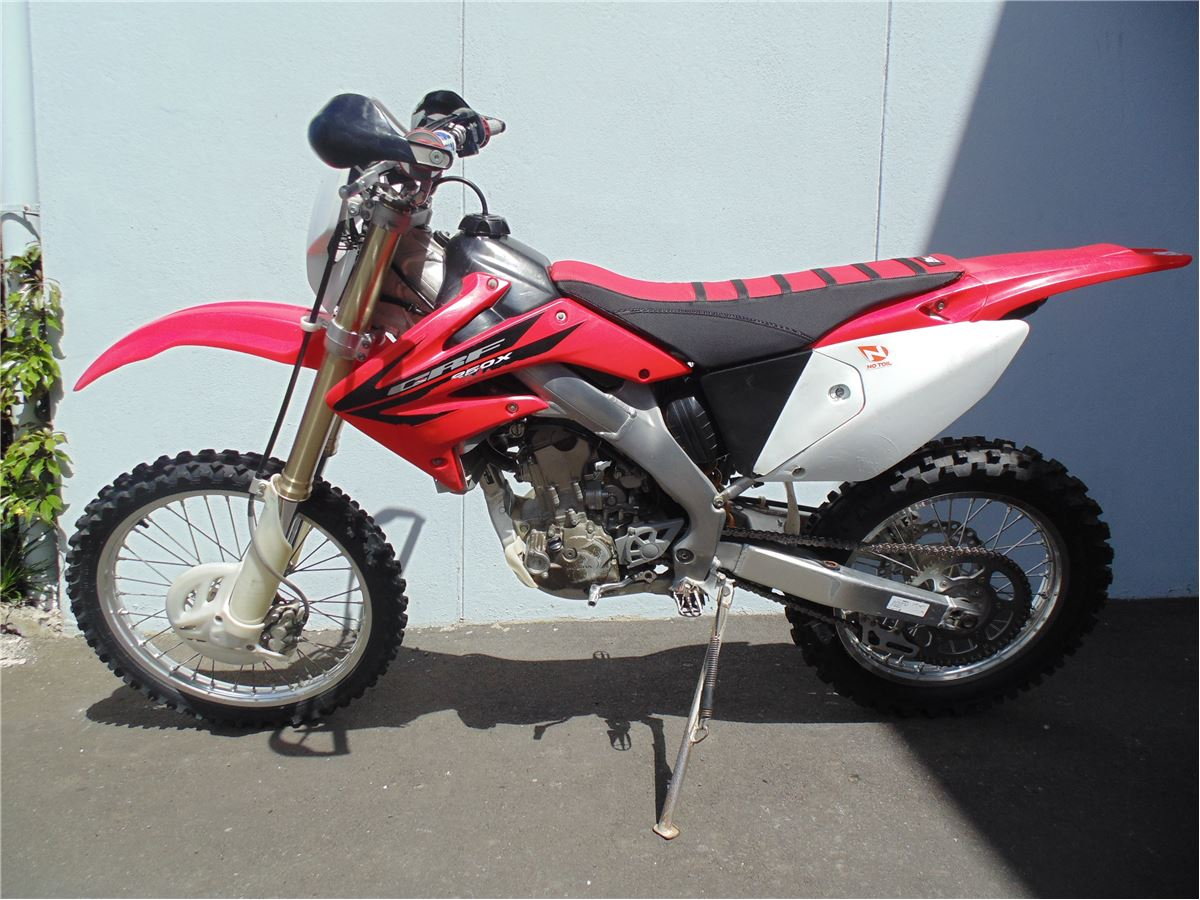 honda crf250x electric start enduro 2006 cyclespot new and used honda bmw ktm ducati. Black Bedroom Furniture Sets. Home Design Ideas