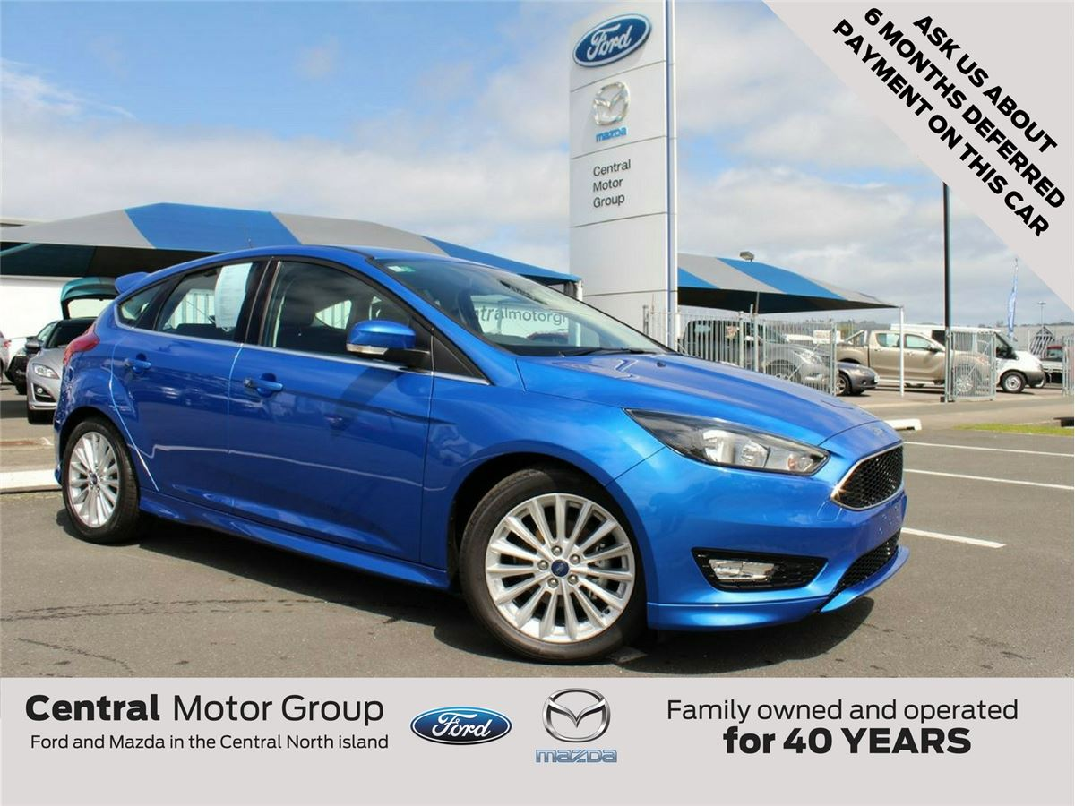 Ford Focus SPORT 2018 - Central Motor Group - Taupo's biggest and most  successful motor vehicle dealership Ford and Mazda, Taupo, New Zealand.