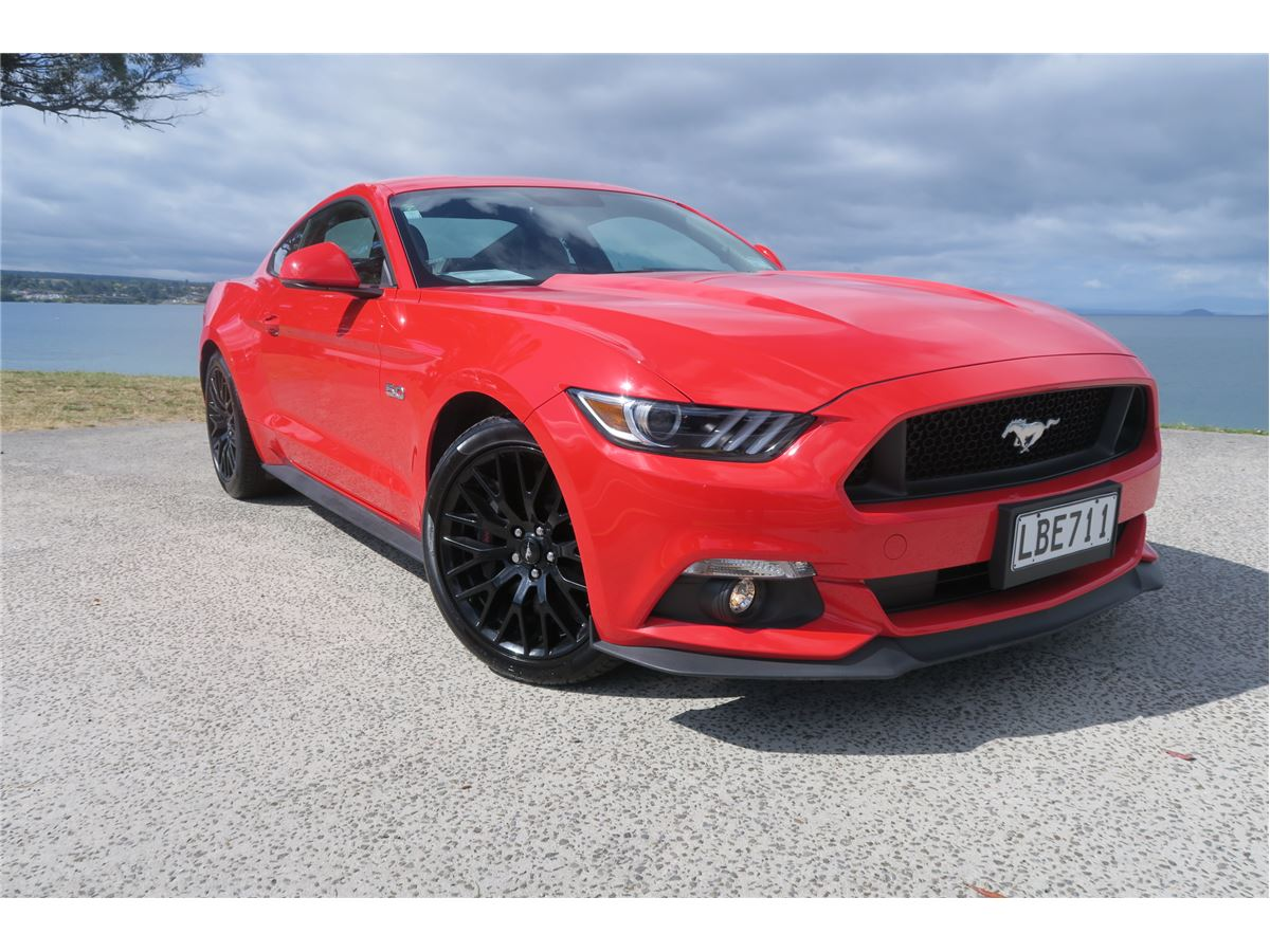 Ford mustang 5 0l fastback 6at 2017 ex ford nz