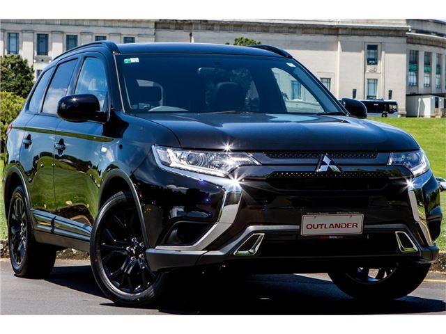mitsubishi outlander black edition 2.4p 2019 - motoring network, new