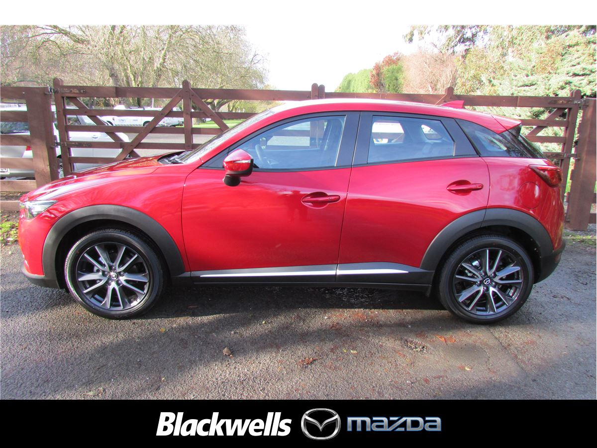 Edmonton Mazda Dealer New Or Used Cars For Sale: Mazda CX-3 GSX FWD Leather 2018