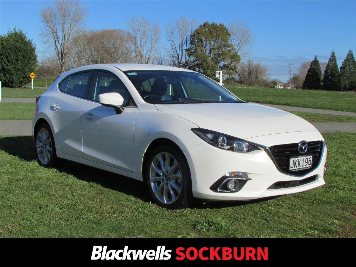 Mazda 3 SP25 2.5 Auto 2015   Blackwells Mazda Christchurch | Official Mazda  Dealership Cantebury, New, Used, Demo Mazda Cars For Sale, Parts And  Service ...