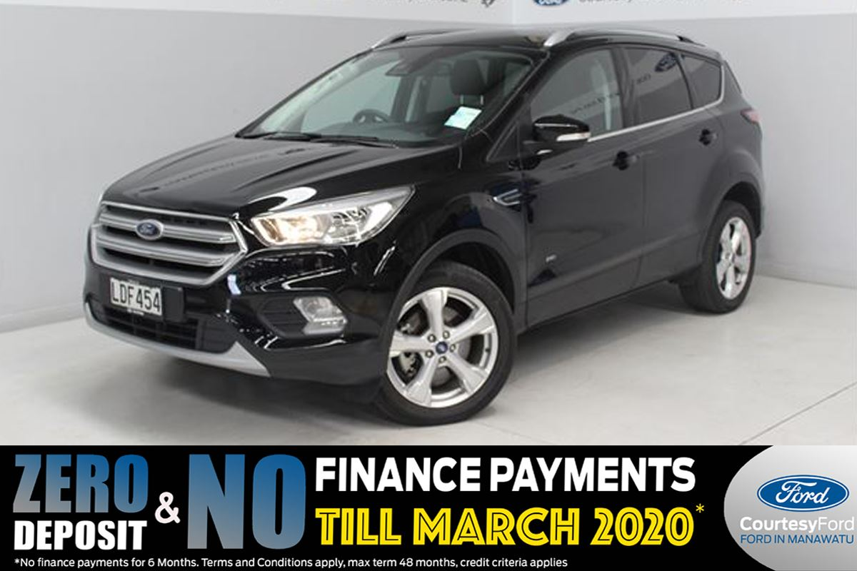 Ford Escape TITANIUM AWD PETROL 2018 - Courtesy Ford