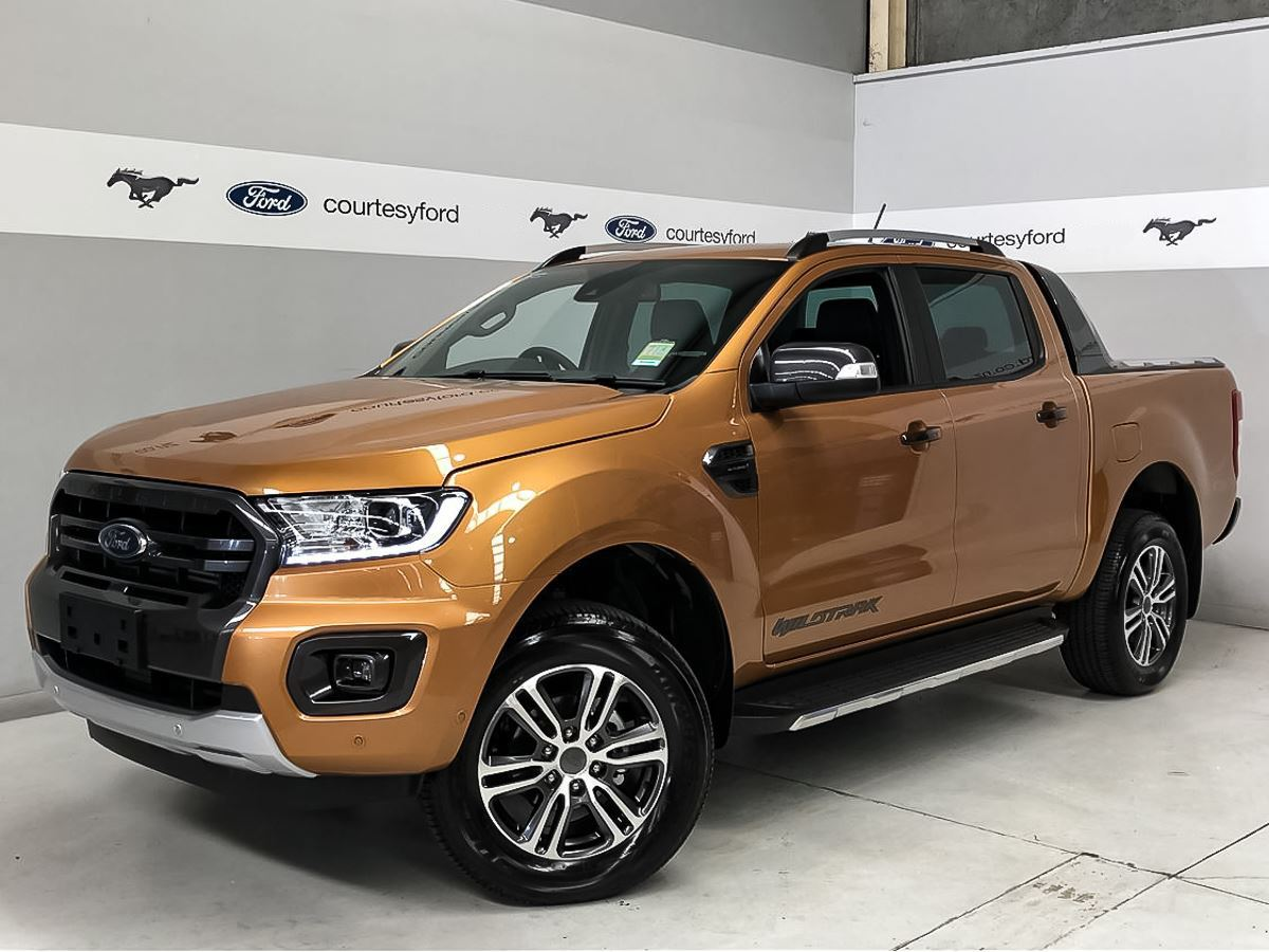 Ford Ranger Wildtrak 2 0l Bi Turbo 2020 25 4x4 2020 Courtesy Ford Manawatu Ford Ford Mustang Suzuki And Triumph Dealership In Manawatu