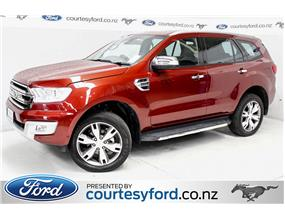 Ford Everest TITANIUM 3.2L TURBO DIESEL 2017