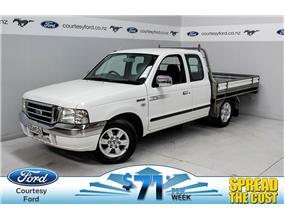 Ford Courier XLT 2.6L PETROL SUPER CAB FLAT DECK  2006