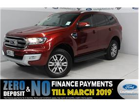 Ford Everest TREND 7 SEATER 3.2ltr 2016