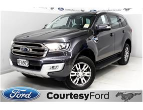 Ford Everest TREND 3.2L TURBO DIESEL AUTO 2016