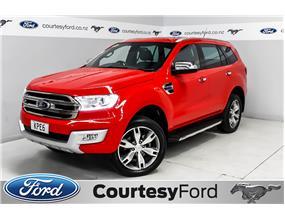 Ford Everest TITANIUM 3.2 TURBO DIESEL 2017