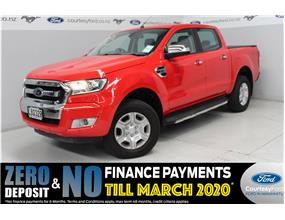 Ford Ranger XLT 4WD DOUBLE CAB AUTO 4x4 2017