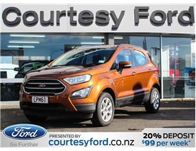 Ford Ecosport TREND 2018