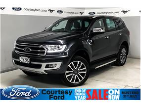 Ford Everest TITANIUM 2.0L Bi-Turbo 10sp Auto 2019