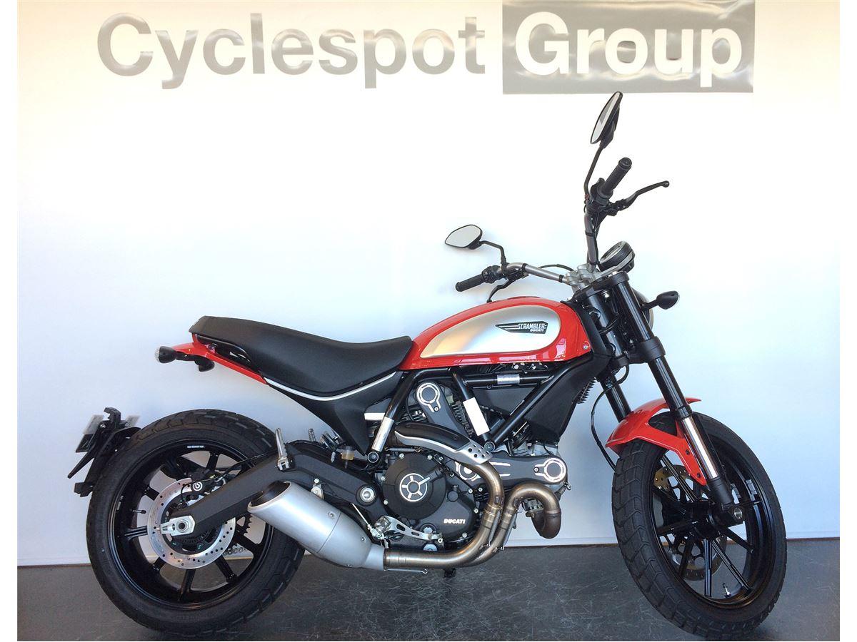Ducati Scrambler Icon 2018 Cyclespot New And Used Yamaha Bmw