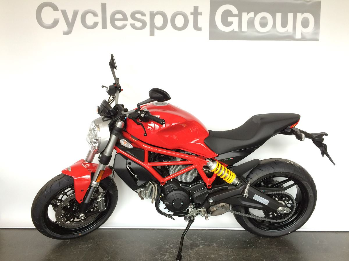 Ducati Monster M797 Red 2018 Cyclespot New And Used Yamaha Bmw