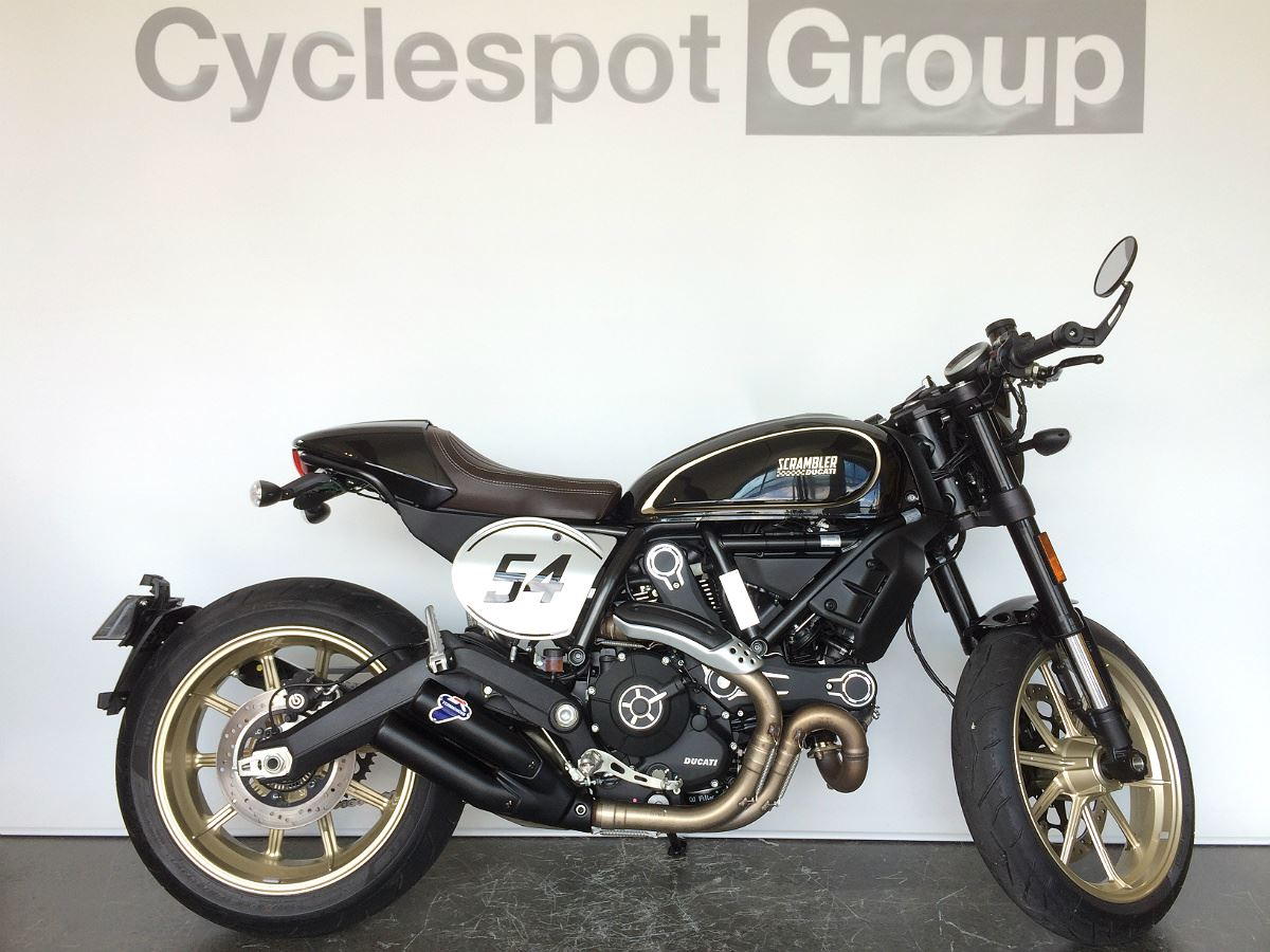 Ducati Scrambler Cafe Racer Low Kms 2017 Cyclespot New And Used