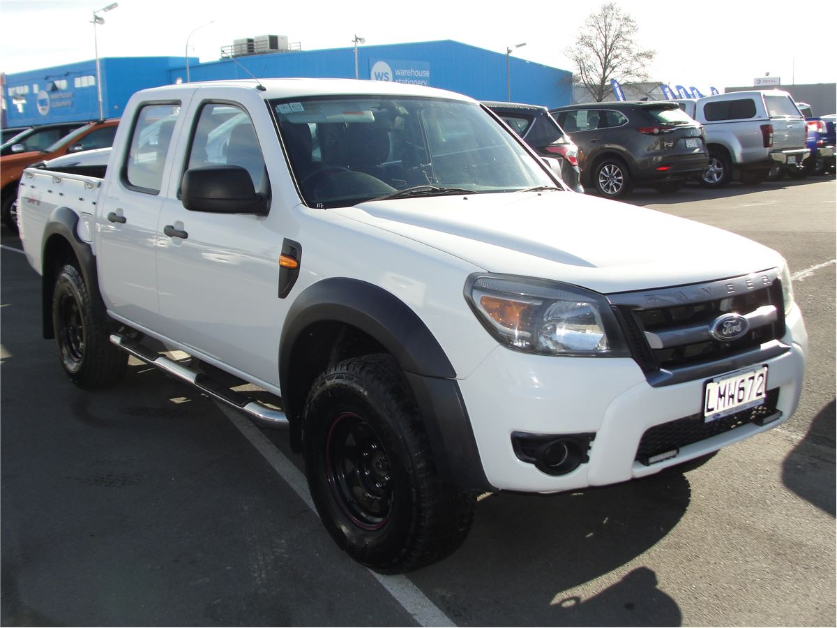 Ford Ranger XL 4X4 Manual D/Cab 2010 - Fagan Motors | New & Used Ford,  Mazda, Kawasaki & Suzuki dealership - Service & Parts Masterton, New  Zealand.