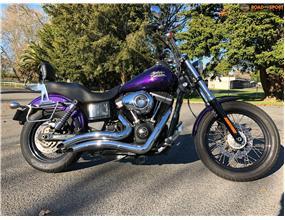 Harley Davidson FXBB Street Bob 2014