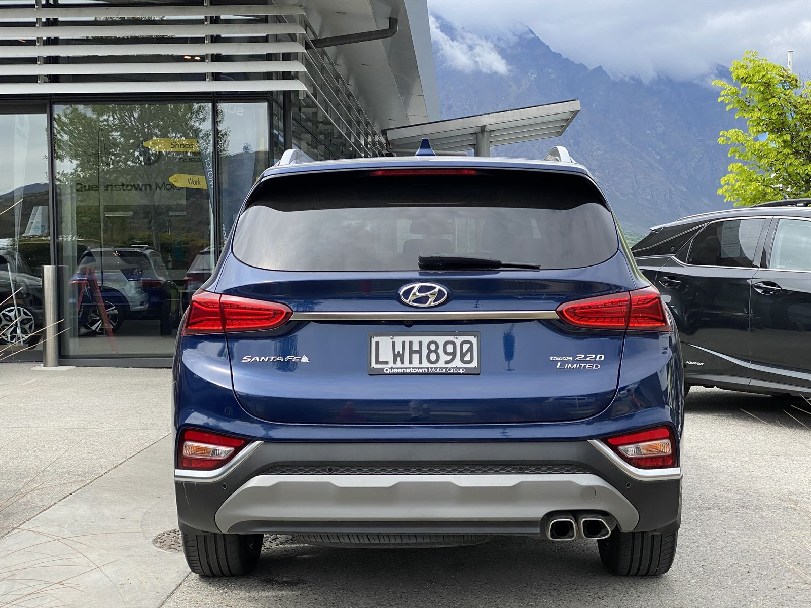 Hyundai Santa Fe TM LIMITED 2018 - Queenstown Motor Group ...